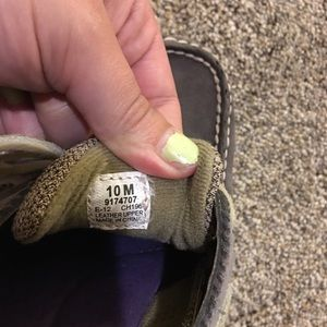Sperry Shoes - sperry top-sider grey loafers size 10